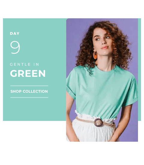 Day 9 - Green Color | Navratri 2019