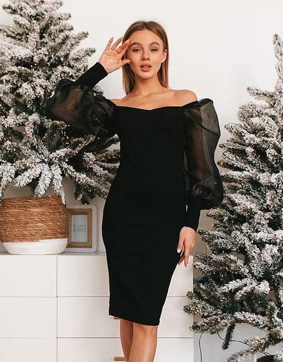 Off-Shoulder Dress for Women - New Year Party Dress | Bewakoof Blog