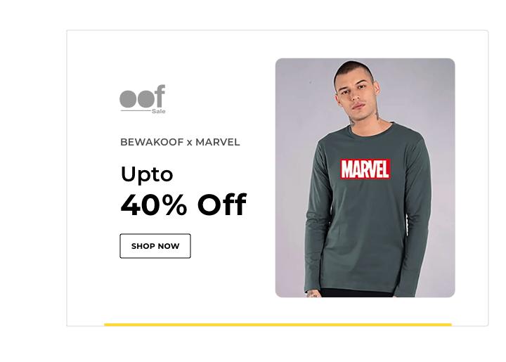 Bewakoof x Marvel