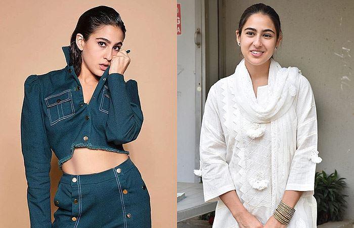 sara ali khan - Bollywood Actresses Without Makeup   Bewakoof Blog