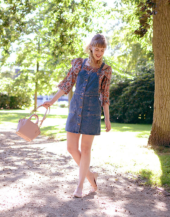 The Peppy Pinafore Dress