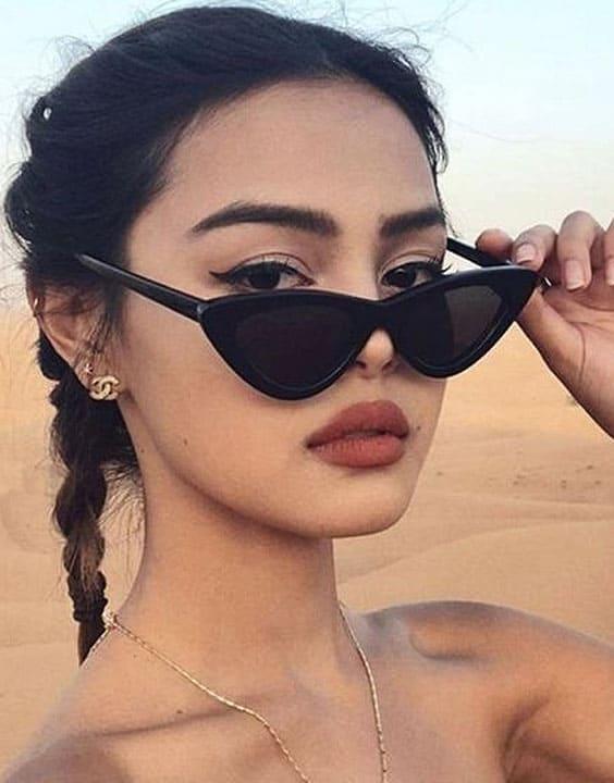 Cat Eye - Types Of Sunglasses For Women | Bewakoof Blog