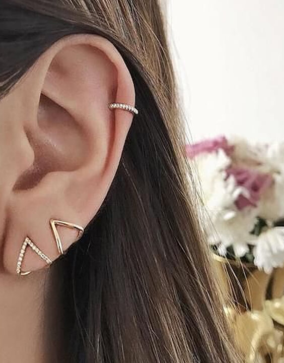 Helix Piercing - Types of ear piercings | Bewakoof Blog