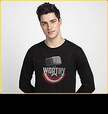 Worthy Full Sleeve T-Shirt (AVEGL)