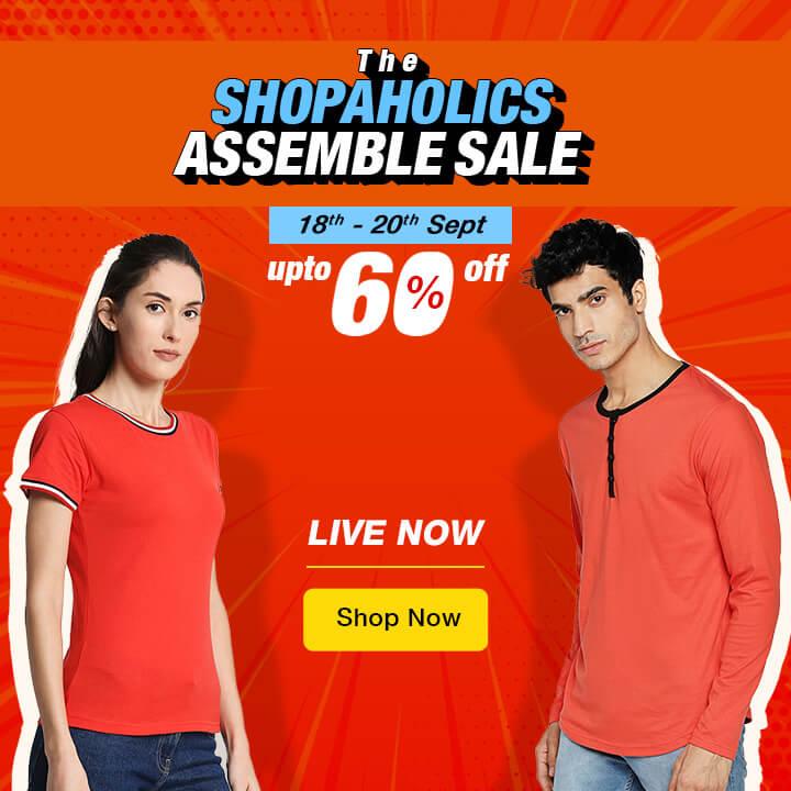Shopaholics Assemble Sale - Bewakoof Sale