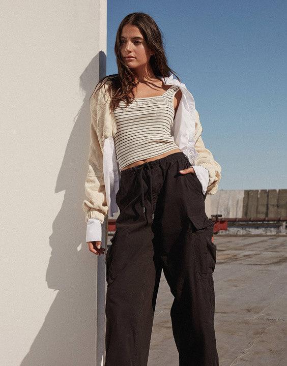 Black Cargo Pants for Women | Bewakoof Blog