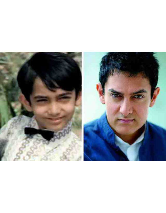 Aamir Khan |Bollywood child actors - Bewakoof Blog