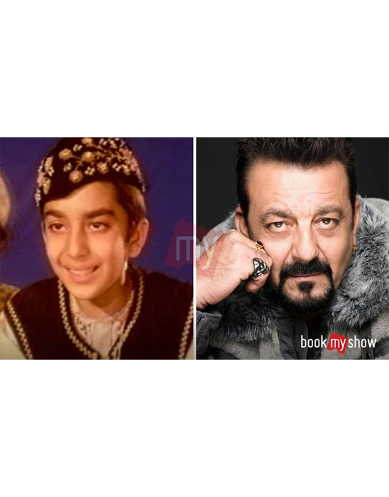 Sanjay Dutt |Bollywood child actors - Bewakoof Blog