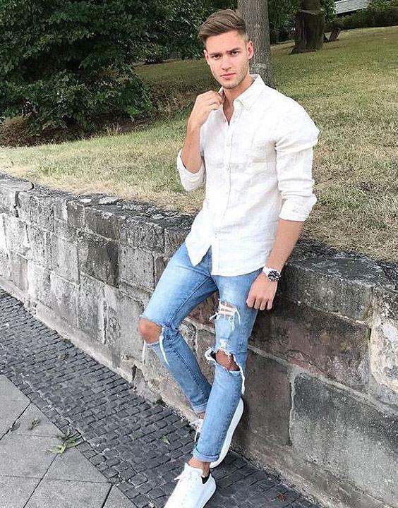 White Shirt for Men - casual outfits for men | Bewakoof Blog