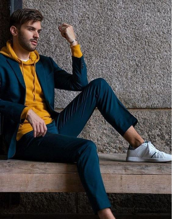 Blue Suit Style for Men - casual outfits for men | Bewakoof Blog