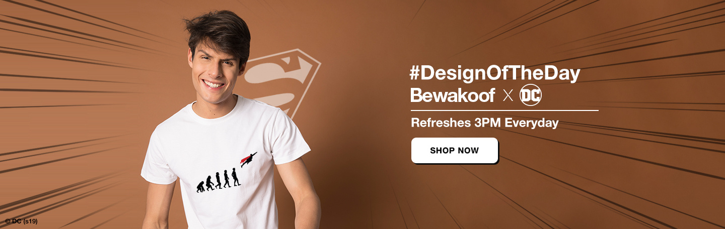 Design Of The Day for Men - Bewakoof.com