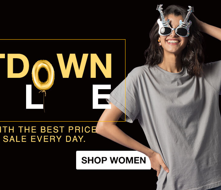 Countdown Sale for Women