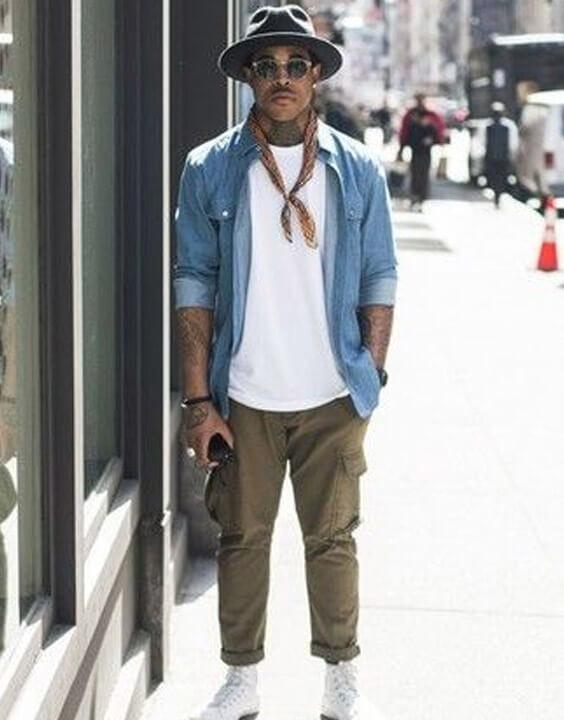 Cargo Pants With Denim Shirts for Men - Bewakoof Blog