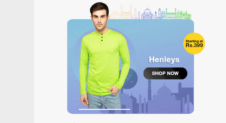 Henley T-Shirts for Men