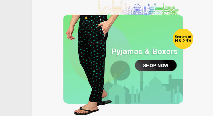Pyjamas & Boxers for Men