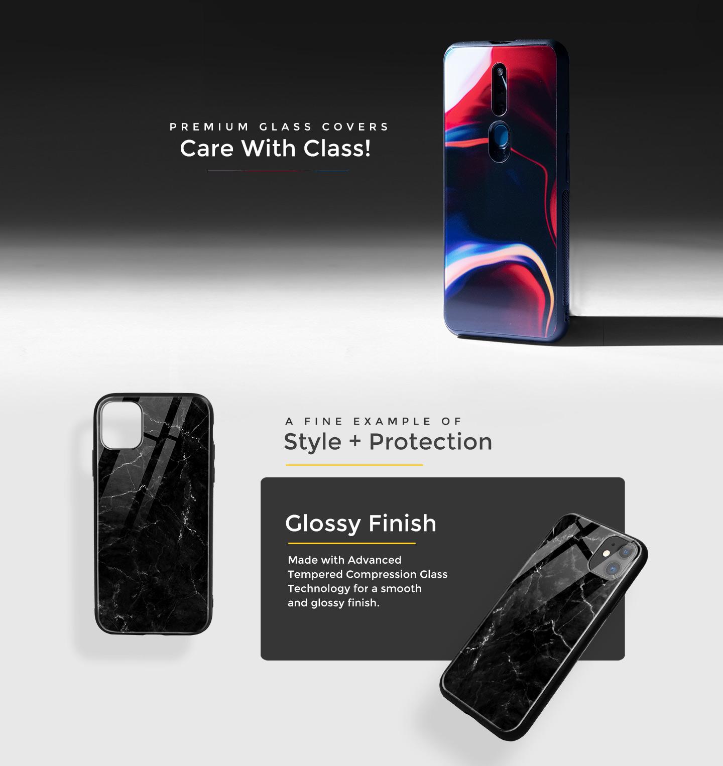 Premium Glass Cover