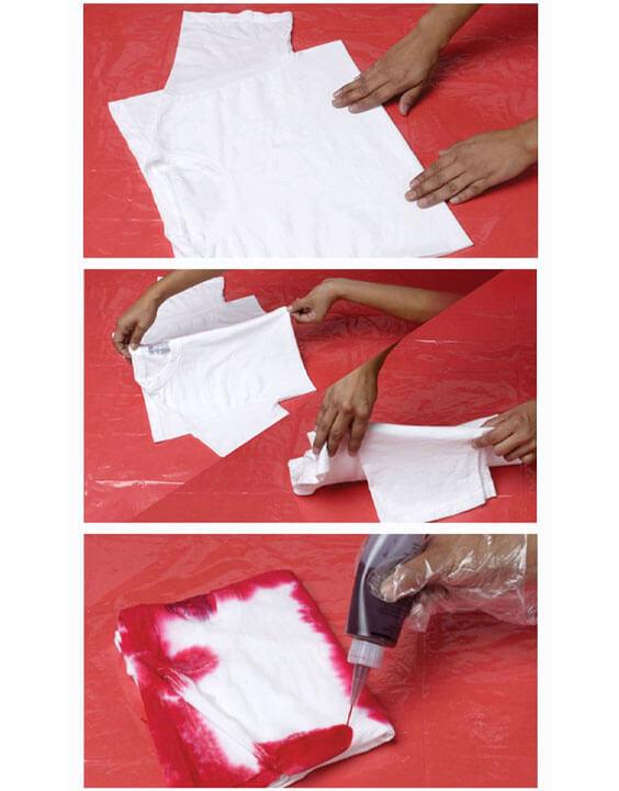 Folding Technique guide | tie and dye techniques - Bewakoof Blog