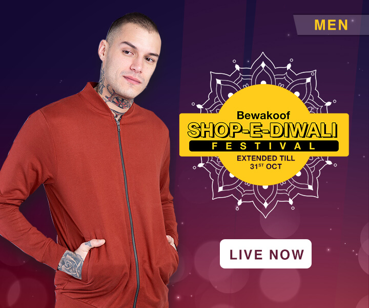 Diwali Shopping Festivals | Men - Bewakoof.com
