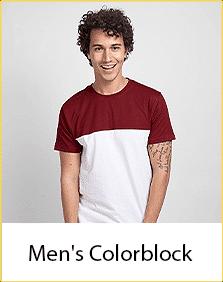 Color Block T-Shirts for Men