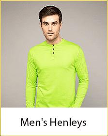 Henley T-Shirts for Men