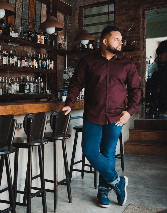 The Diner Style - Plus Size Outfit Ideas For Men | Bewakoof Blog