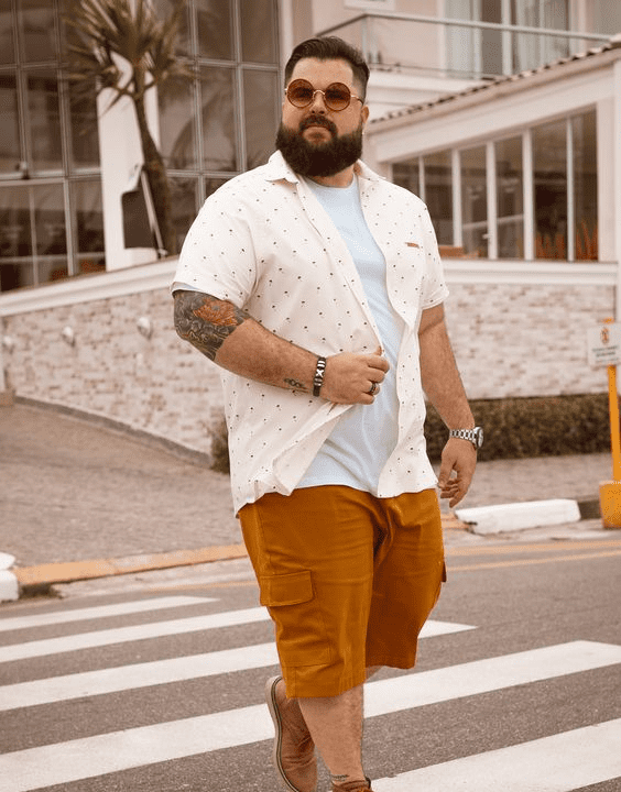 The Cooler Style - Plus Size Outfit Ideas For Men | Bewakoof Blog