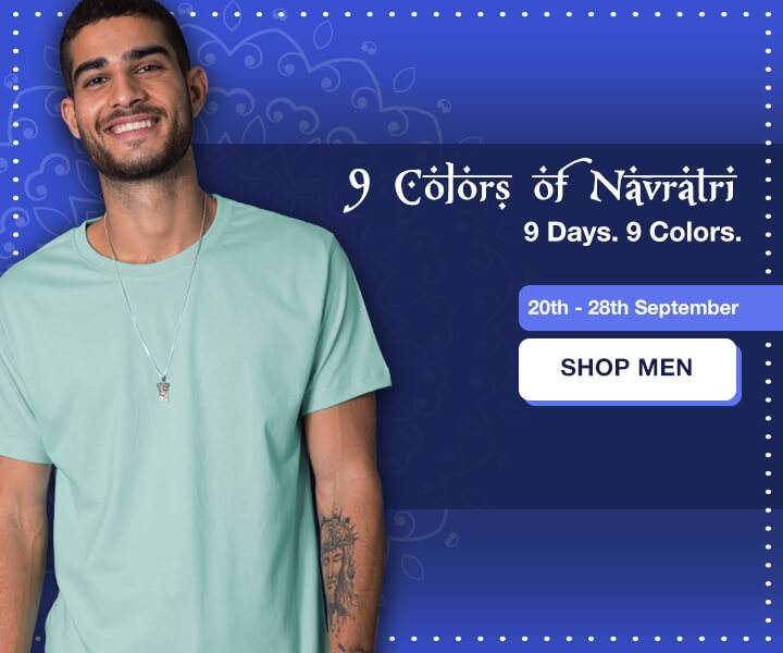 9 Colors Of Navratri 2019 for Men