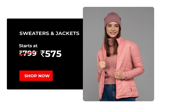 Sweater & Jackets for Women