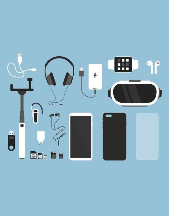 Mobile Accessories - Checklist of Trekking Essentials | Bewakoof Blog