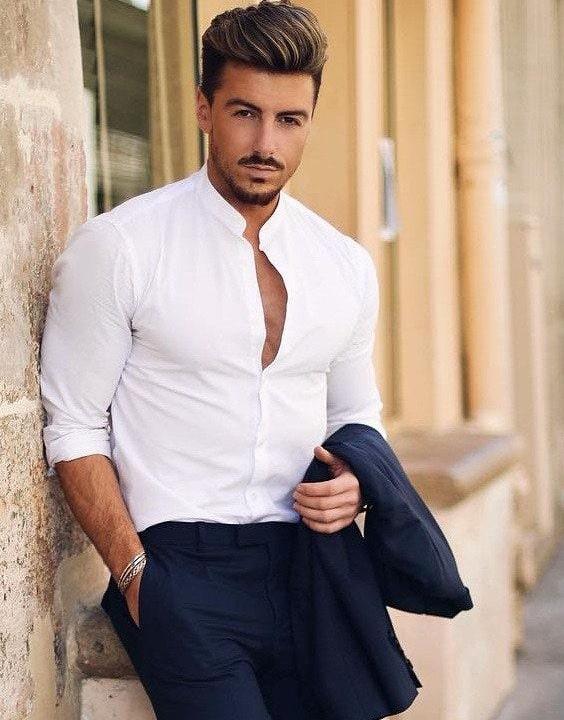 Mandarin Collar Shirt - types of shirts | Bewakoof Blog