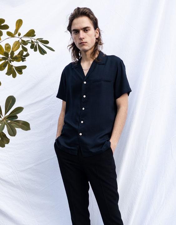 Camp Collared Short Sleeve Shirt - types of shirts | Bewakoof Blog