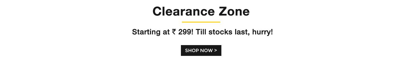 Clearance Zone - Bewakoof.com
