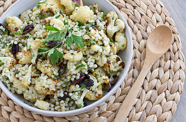 Cauliflower and couscous