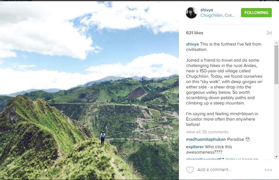 Shivya - Instagram Travel| Utter Bewakoof