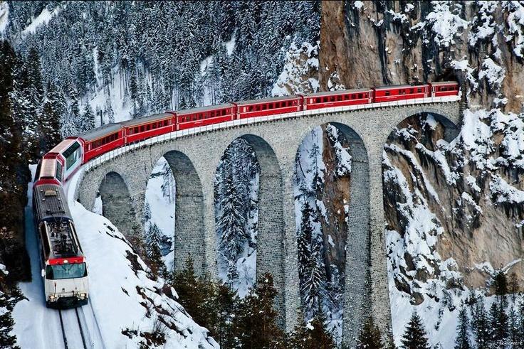 Glacier Express - Train Journeys | Utter Bewakoof
