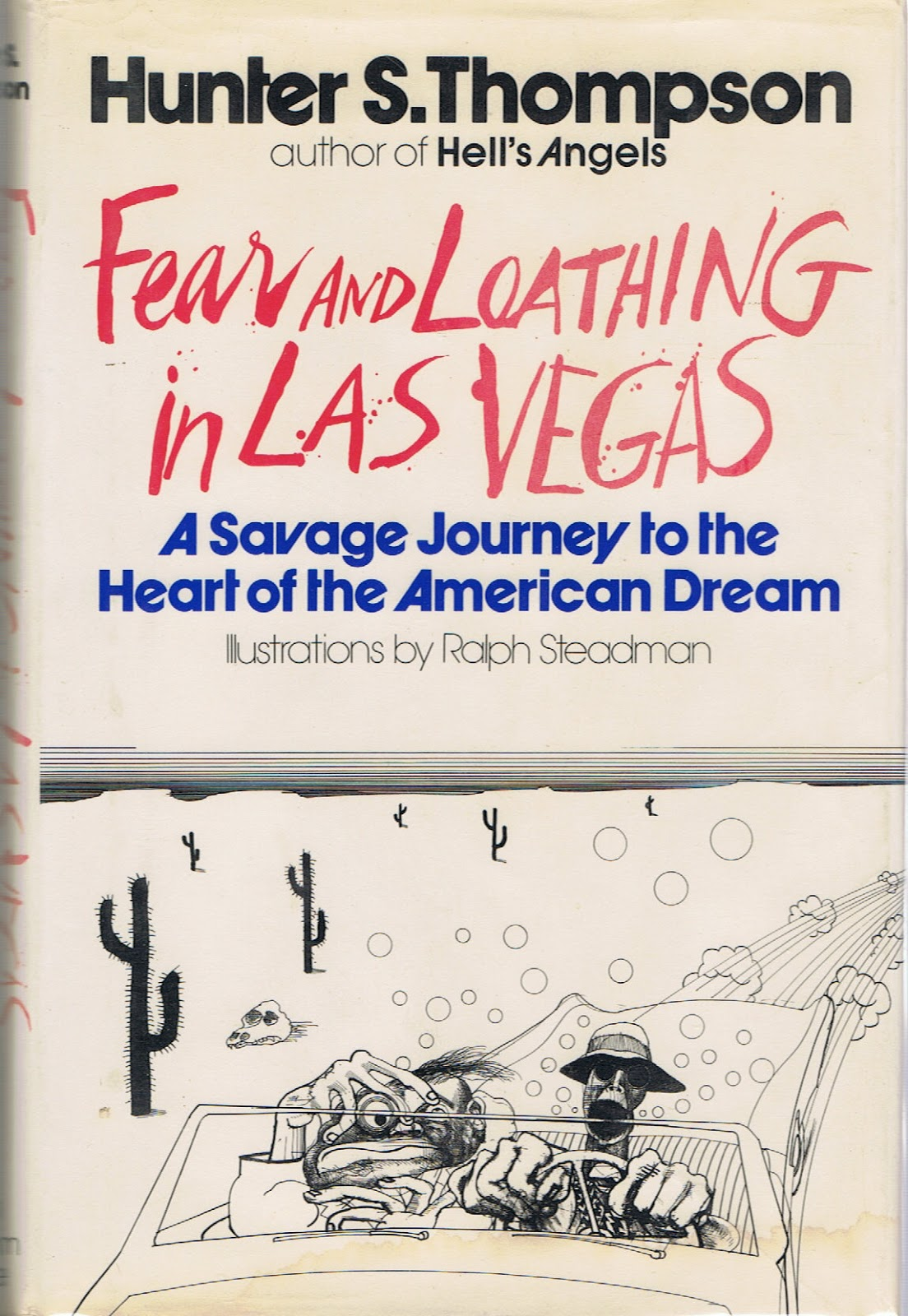 Fear and Loathing in Las Vegas - Books on Drugs   Utter Bewakoof