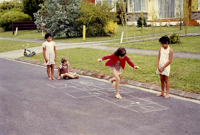 Hopscotch - Childhood games| Utter Bewakoof