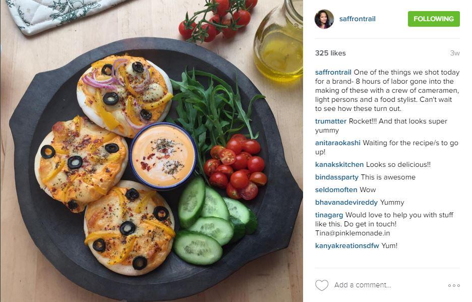 Nandita Iyer - Food Instagram Accounts  Utter Bewakoof