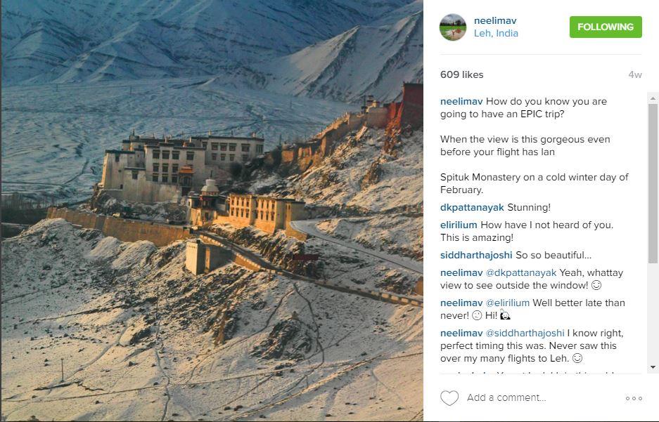 Neelima Vallangi - Instagram Travel| Utter Bewakoof