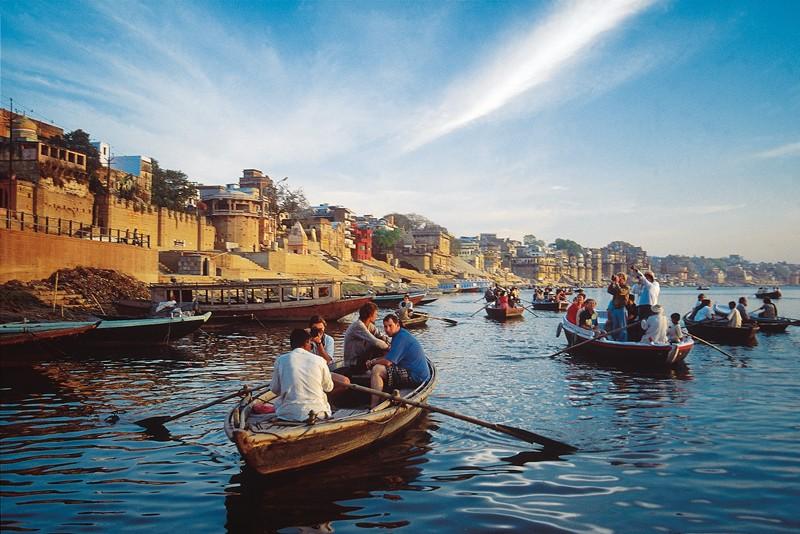 Ganges along Kolkata-Varanasi