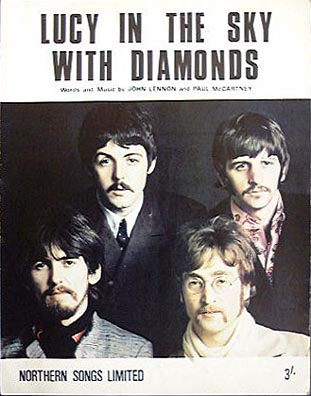 'Lucy in the sky with diamonds' by The Beatles