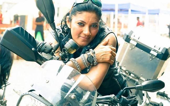 7 Veenu Paliwal - Indian Biker