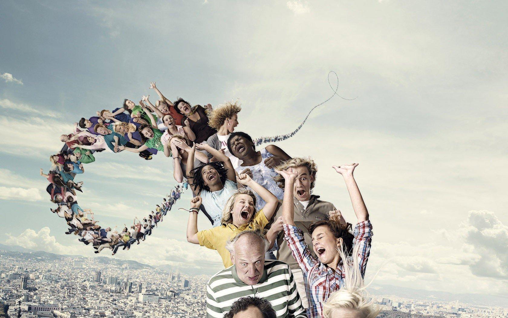 Amazing rollercoaster