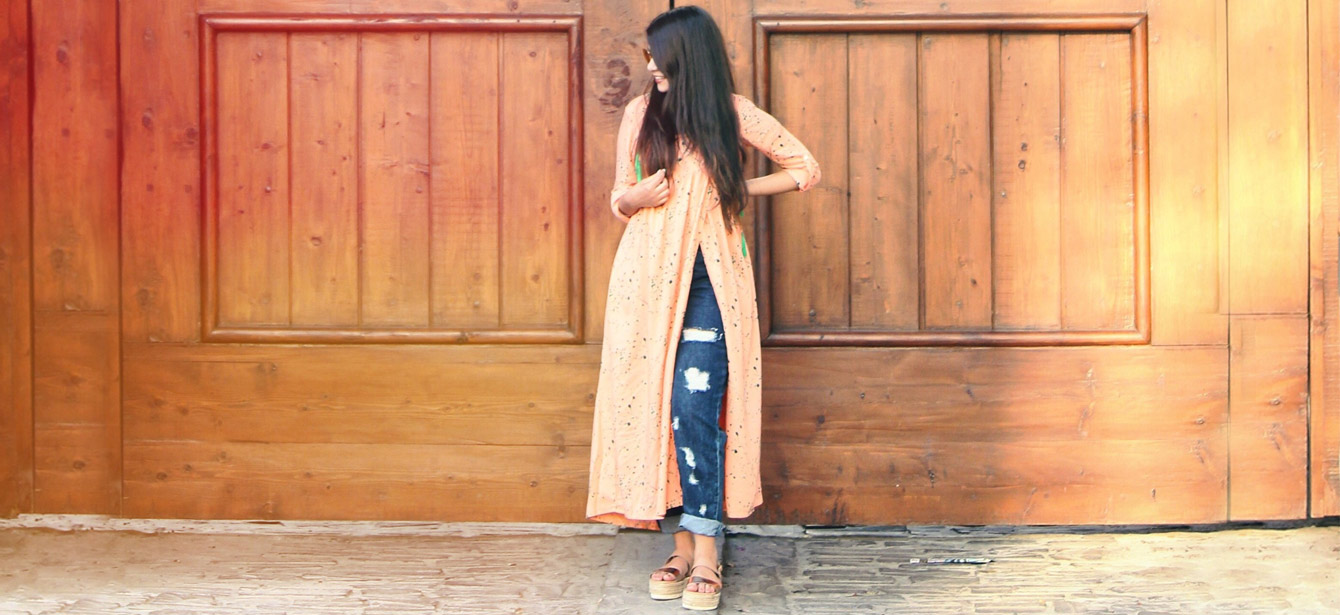 The Jeans And Kurti Combination Is Totally Evergreen Know Exactly