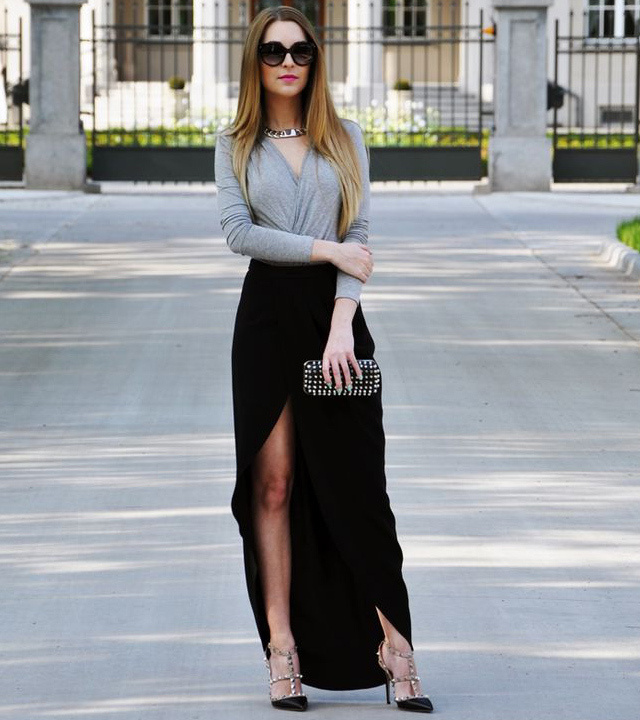 Asymmetrical skirt - bewakoof blog
