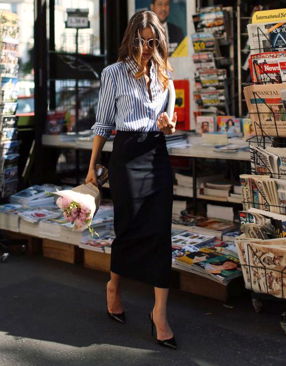 Pencil skirt - bewakoof blog