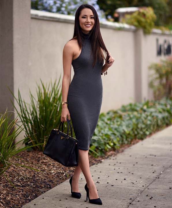 Are dress body bodycon slender types different on brand