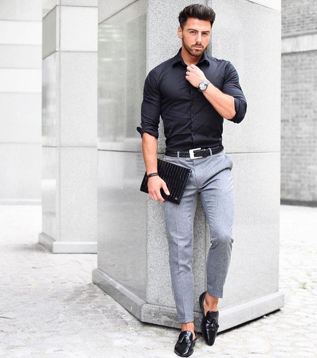 7873c22126b Formal Pant Shirt Style Outfit Ideas For Men