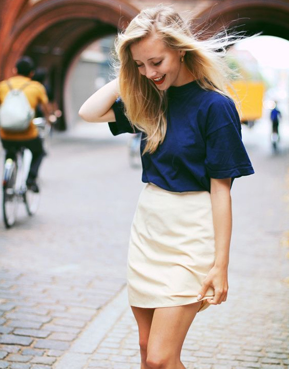 Tee with skirt - Bewakoof blog