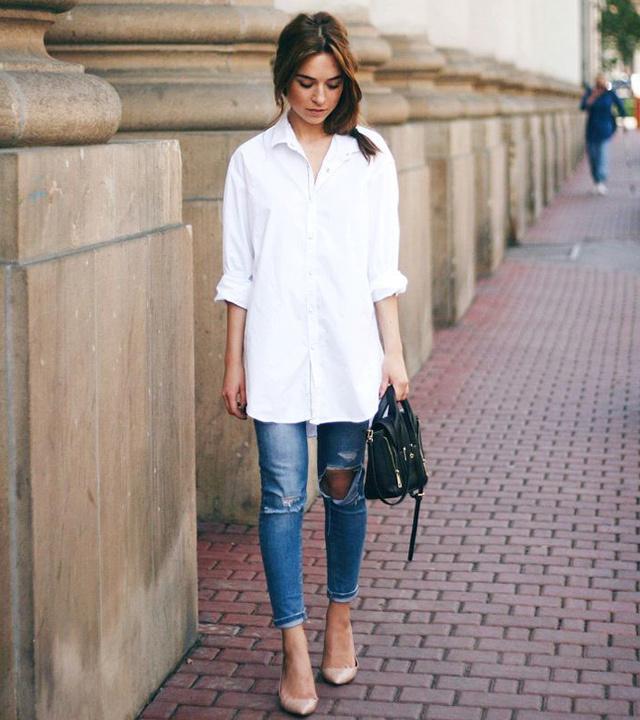 ripped jeans with Kurti - bewakoof blog